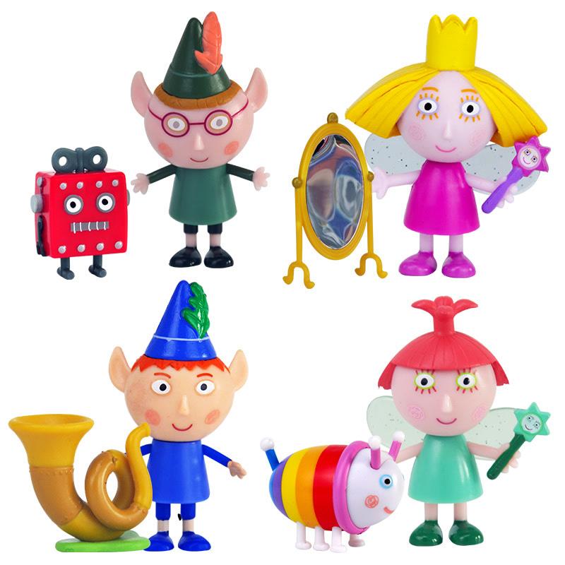 班班和莉莉的小王国人偶单只装